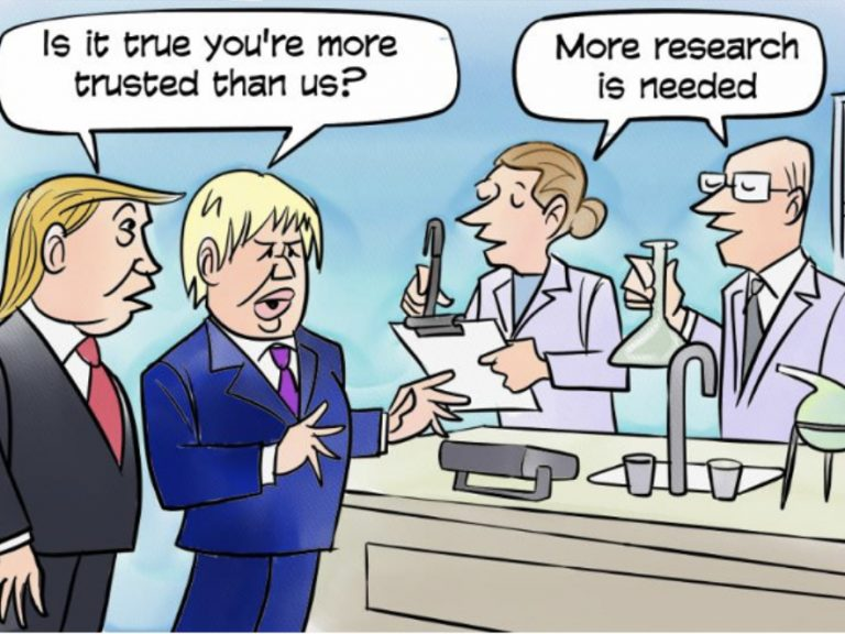 Scientists Vs Politicians in a crisis