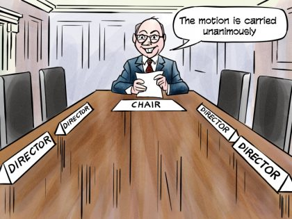 Committee Cartoon Crisis Communications